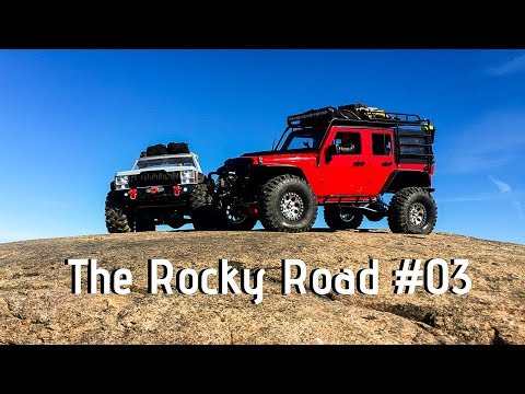 The Rocky Road #03 [Axial Scx10 Jeep Wrangler Rubicon & Jeep Comanche]