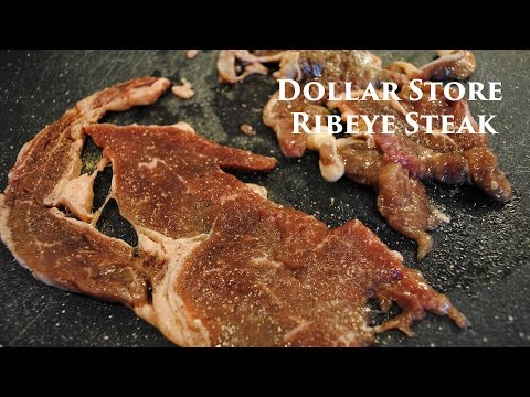 Dollar Store Steak Review
