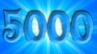 5000 SUBSCRIBERS