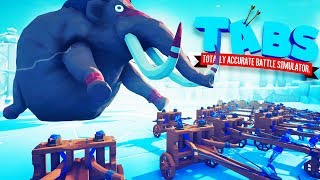 I Hacked TABS And Created Giant Units in Totally Accurate Battle Simulator Modded (TABS)