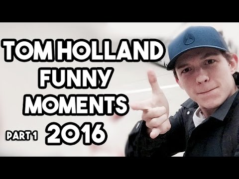 Tom Holland Funny Moments 2016 | Pt 1