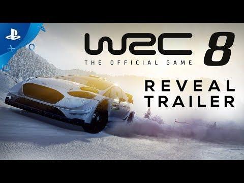 WRC 8 FIA World Rally Championship - Reveal Trailer | PS4 thumbnail