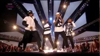 JLS - Hottest Girl in the World (Live MOBO Awards 2012)