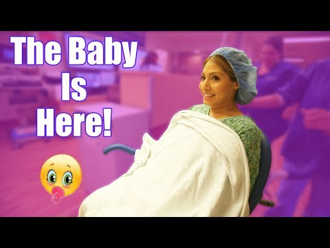 THE BABY IS HERE!!!