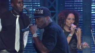 50 cent ayo technology live on letterman 15 10 07  2007 rdu
