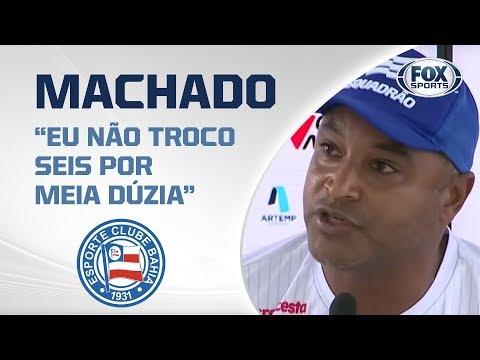 BAHIA AO VIVO! Roger Machado fala em entrevista antes do clássico Ba-Vi