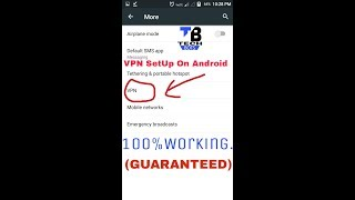 Gambar cover VPN SetUp On Android 💯%Working.