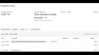 what mean Automatic payment pending Wire transfer to  bank account