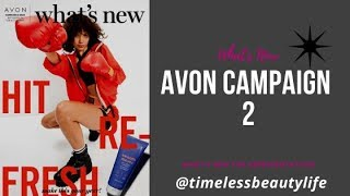 Avon Whats New Campaign 2 - Selling Avon Online And New KBeauty Products