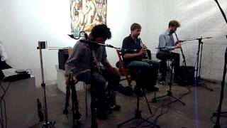 Alder, Jackson, Ward Improvised Clarinet Trio, CRAM Festival 2016