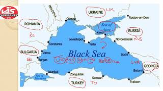 BLACK SEA COUNTRIES TRICK|| KERCH,BOSPHORUS,DARDENELLES STRAITS||MARMARA SEA,AZOV SEA