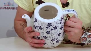 """Чайник керамический ViLgrand VC917В от компании Компания """"TECHNOVA"""" - видео"""