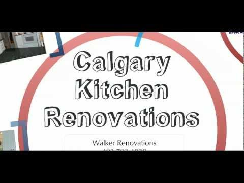 Calgary Kitchen Renovations by Walker Renovations 403-703-4830