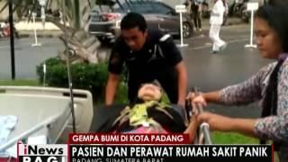 Gempa Bumi Guncang Padang Pasien Dan Perawat Rumah Sakit Panik  INews Pagi 02/06