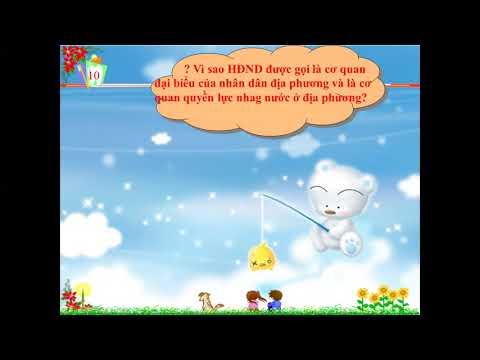 GDCD 7 Chủ đề Nhà nước CHXHVN 7 5 20