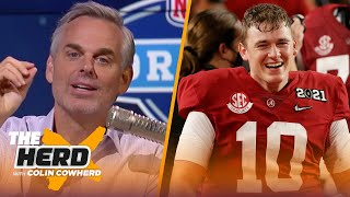 Colin Cowherd on why 49ers are targeting Mac Jones, talks Justin Fields & Falcons | NFL | THE HERD