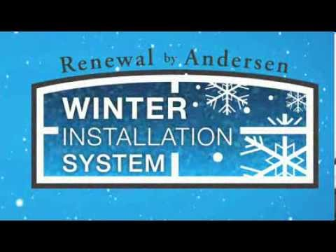 Winter can be a great time to replace those old drafty windows. We know people can be concerned about replacing their windows in the winter time, with our Winter Installation System it can make it easy, and comfortable. Our installation experts first seal off the room in which they are working in. This way we prevent any heat loss, and can properly replace your windows while minimizing your home's exposure to the elements. With an installer working both on the outside and inside of your home simultaneously, and working on one window at a time we install each window on average in as little as five minutes. See today how our new windows can save you money, and make you feel more comfortable in your home this winter!