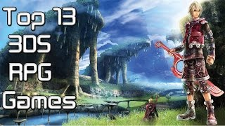 My Top 13 Favourite 3DS RPG Games 2015 / 2016