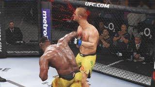 МОЩЬ 100!!!ФРАНСИС НГАННУ УБИЙЦА UFC 3 RANKED TOP 5