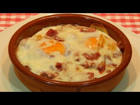 Receta fácil de huevos a la cazuela rápidos y sabrosos