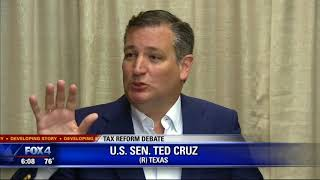 Sen. Cruz on KDFW - December 4, 2017