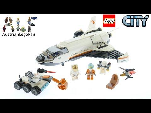 Vidéo LEGO City 60226 : La navette spatiale