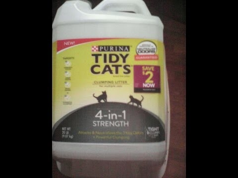 Purina Tidy Cats 4 In 1 Strength Clumping Cat Litter 20