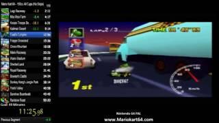 Mario Kart 64 150cc All Cups (No Skips) in 49:20 [N64 PAL]