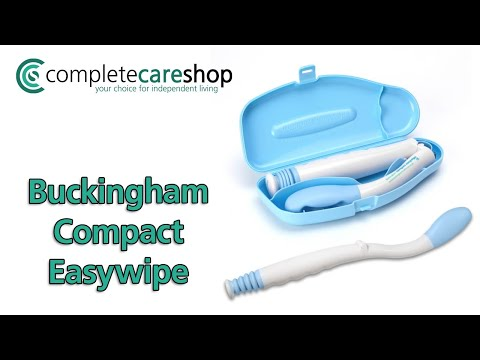 Buckingham Compact Easywipe Demonstration