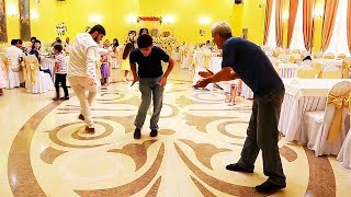 Шикарный танец Нарека на свадьбе. Парни красавчики. Chic dance at the wedding. Handsome guys