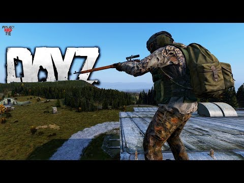 DayZ 1.01 - Roof Top Sniper!