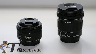 Canon 50mm & Canon 10-18mm: My First Two Lenses for the Canon 80D