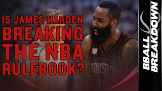Is JAMES HARDEN Breaking The NBA Rulebook?