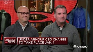 Under Armour founder Kevin Plank on why he's decided to step down as CEO