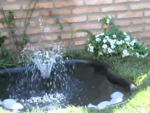 Guia de instalación de estanques con bomba y sistema de filtrado.