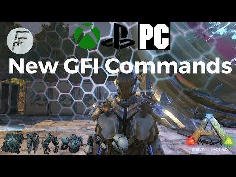 Spawn Full Ascendant Armor Sets  Admin Commands - ARK