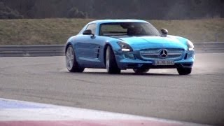 Mercedes SLS Electric Drive. Can Volts Ever Match Pistons? - /CHRIS HARRIS ON CARS