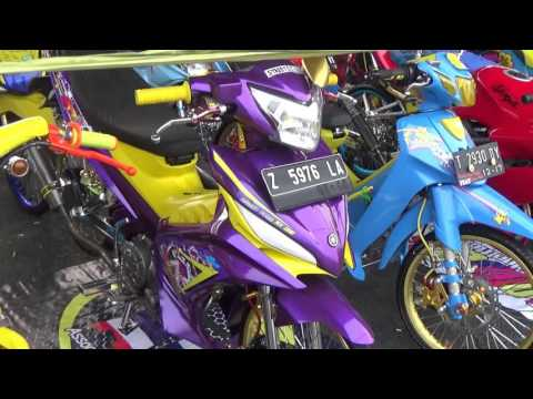 Video Gue pamerin Jupiter MX modfikasi Street Racing