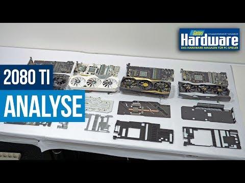 RTX 2080 Ti nackt | Analyse Kühler + PCB | FTW3 / AMP Extreme / Lightning Z / Hall of Fame