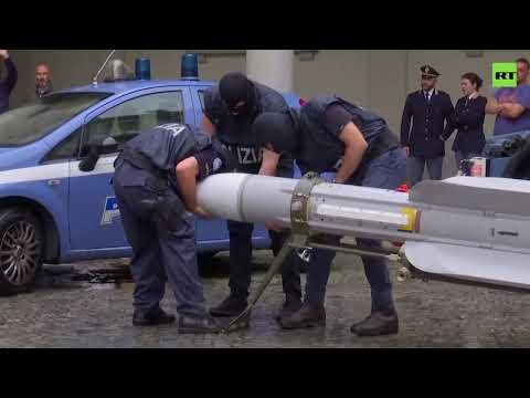 Italy detains 3 in seizure of MISSILES & load of weapons