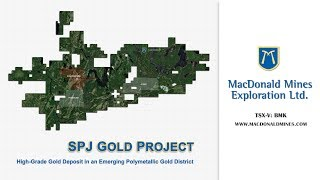 Exploration Manager, JF Montreuil provides a tour of the SPJ Project