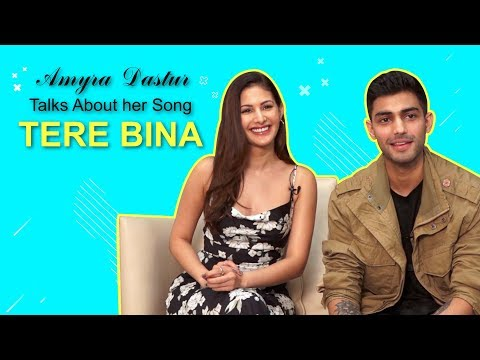 Amyra Dastur on Zaeden's song Tere Bina: It has an acoustic feel to it and is extremely soulful