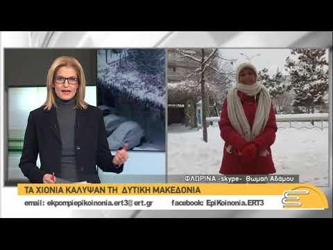 Χαμηλές θερμοκρασίες και στη Φλώρινα | 03/01/2019 | ΕΡΤ