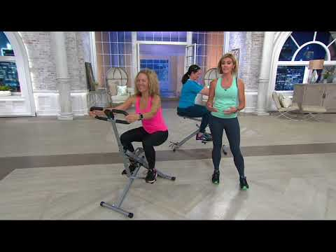Sunny Health & Fitness Upright Row-n-Ride Squat Exerciser on QVC