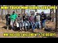 Mini-Truck SE02 EP01 CAUTION EXTREME MOVEMENT Tough mud off-road Toyota Jeeps  Hijet