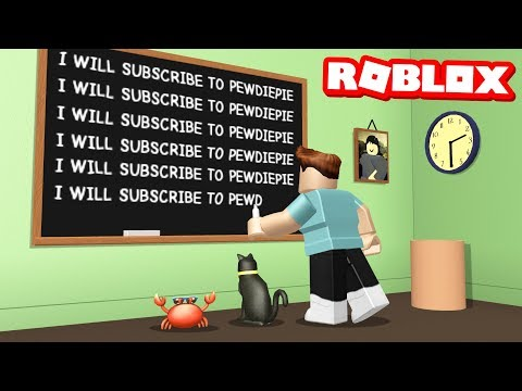 ESCAPE FROM DETENTION OBBY IN ROBLOX (видео)