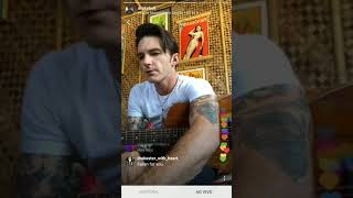 Drake Bell playing It's Only Time (album) HD