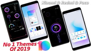 TOP 10 DARK MIUI 10 THEMES | Best MIUI 10 Themes of 2019