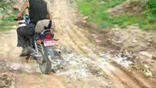preview picture of video 'Rough Road to Nagarkot,Nepal'