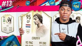FINALLY PRIME MOMENTS CRUYFF!! - DRAFT TO GLORY #13 FIFA 19 ULTIMATE TEAM